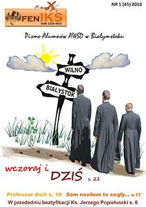 Feniks - pismo alumnów AWSD w Białymstoku - nr 45
