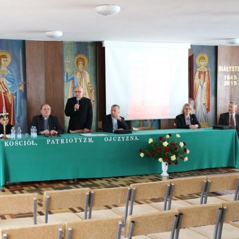 "Konferencja ""KOŚCIÓŁ - PATRIOTYZM - OJCZYZNA"""