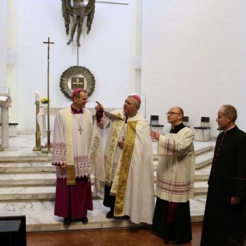 Wizyta nuncjusza apostolskiego w seminarium