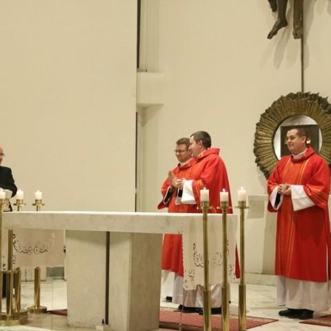 Msza św. z udziałem Księdza Aleha Khmyłki