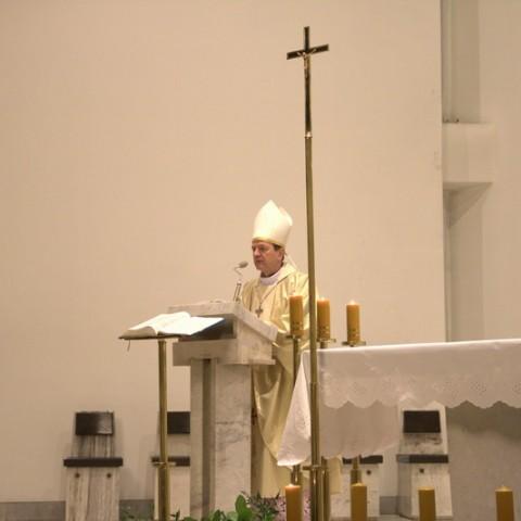 Msza św. z udziałem Księdza Arcybiskupa Tadeusza Wojdy