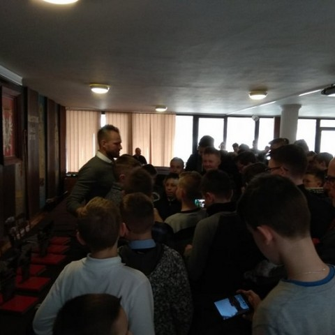 Spotkanie z ministrantami w AWSD