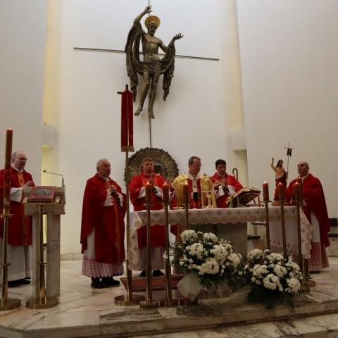 Uroczystości odpustowe w białostockim seminarium