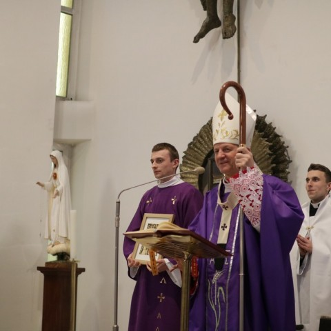 Pożegnanie ks. abp. Tadeusza Wojdy przez AWSD