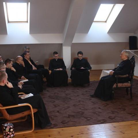Spotkanie z Abp. Edwardem Ozorowskim na temat adhortacji papieża Franciszka
