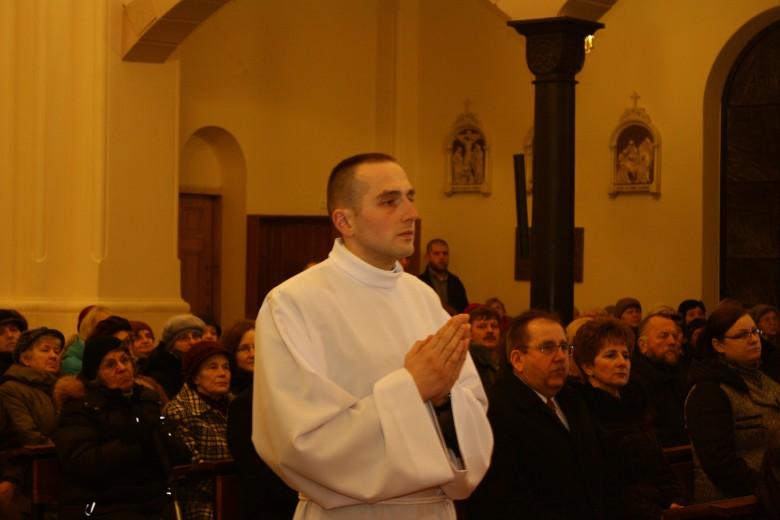 Święcenia diakonatu alumna Konrada Węcławskiego
